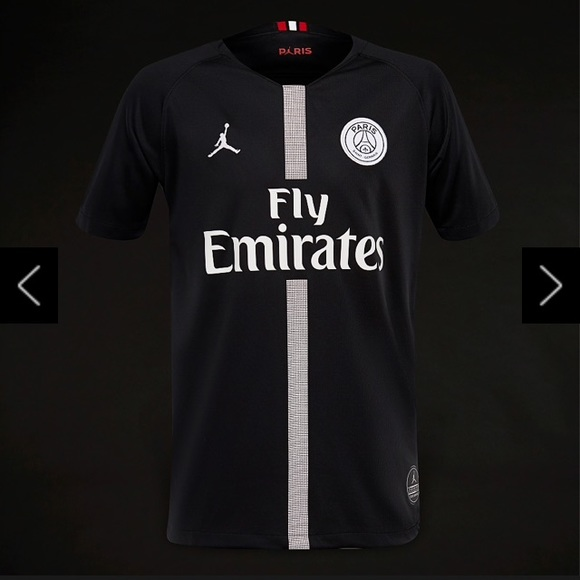 the latest 150de 0b2c5 Jordan x PSG 2018/19 Third Soccer Jersey ! NWT